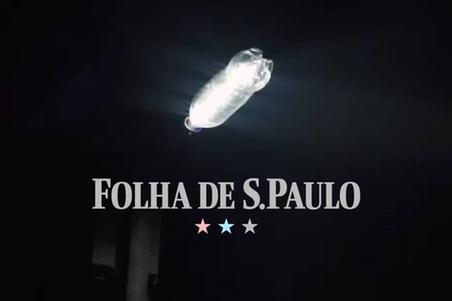 Litro de Luz na Folha de S. Paulo
