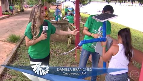 Ação da Amazônia na TV Globo