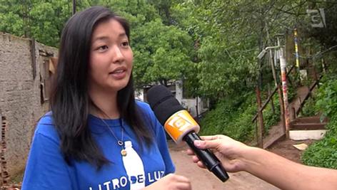 Presidente da Ong fala sobre o Litro de Luz para TV Gazeta