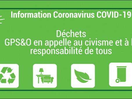 Collecte des déchets pendant la crise du COVID-19