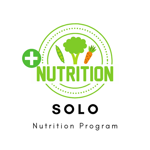 +NUTRITION SOLO (25 meal plans)