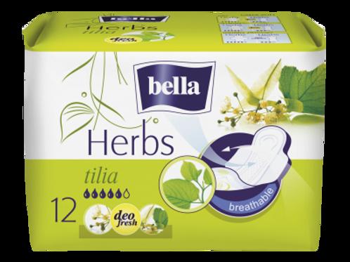 Bella Absorbante Herbs Tilia - 12buc