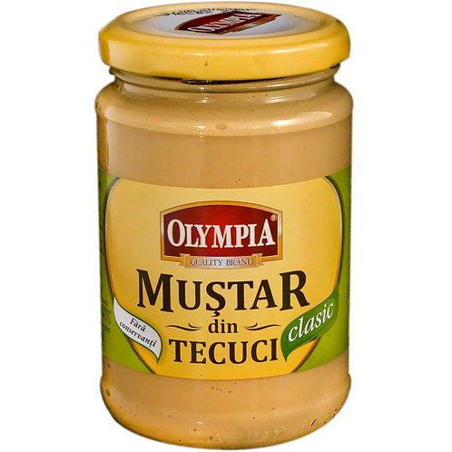 Mustar din Tecuci Clasic - Olympia - 300g