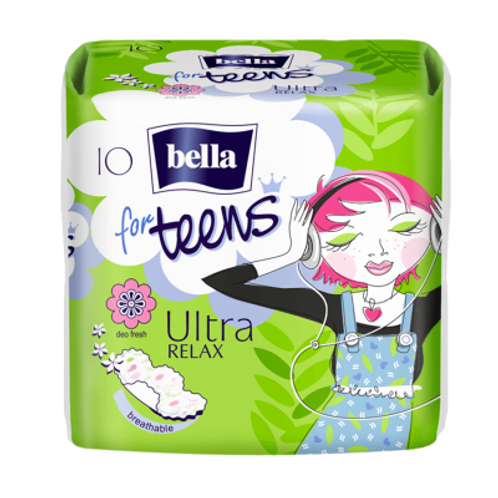 Bella Absorbante Teens ultra relax - 10buc