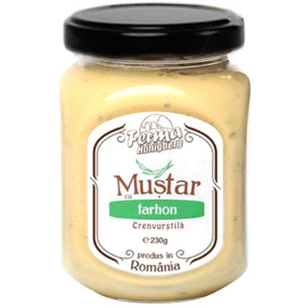 Mustar cu tarhon - Crenvurstila Gourmet - 230g