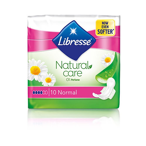Libresse Absorbante Natural Care Normal - 10buc