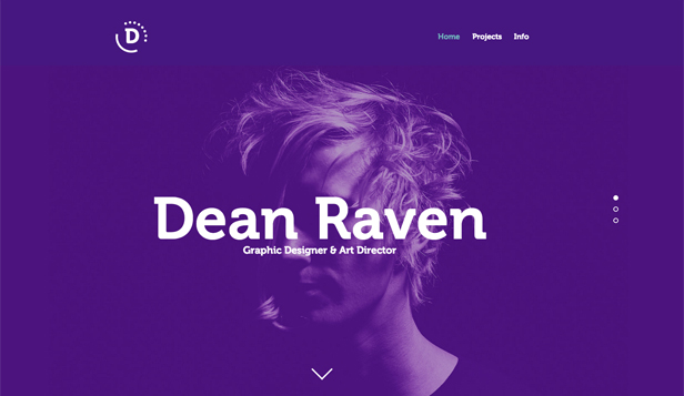 Designer website templates – Multidisciplinary Designer