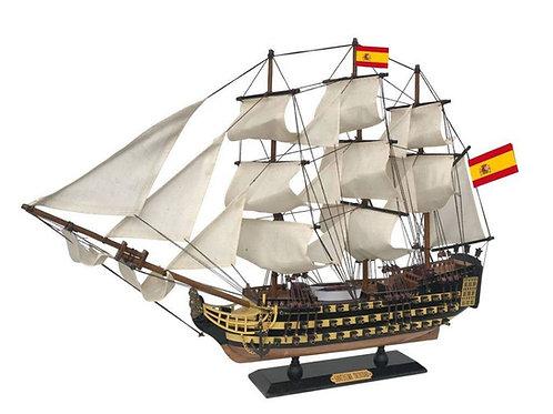 "Santisima Trinidad Tall Ship Model 24"""