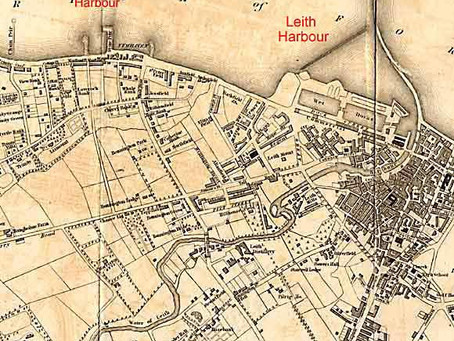 Old Leith Harbour & Water of Leith