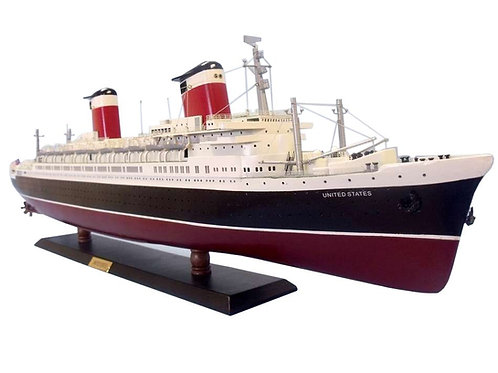 SS United States Limited Model Cruise Ship 40""
