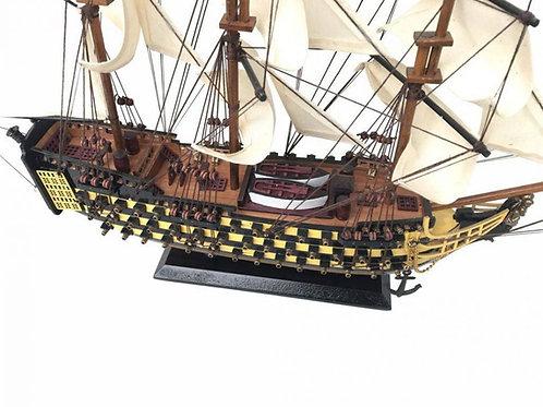 "Royal Louis Wooden Tall Ship Model 24"""