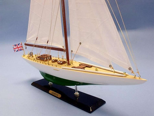 Shamrock Limited Model Sailboat