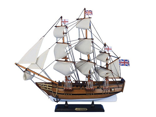 HMS Beagle Tall Ship Model 20""