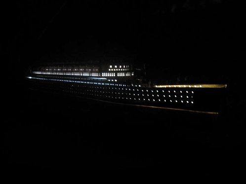 "RMS Mauretania Limited Model Cruise Ship 40"" w/ LED Lights"