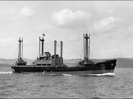 Leith Built Ship – MV KAITOA