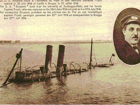 SS Brussels and her Captain Charles Fryatt