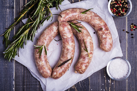 Homemade Beef Sausages