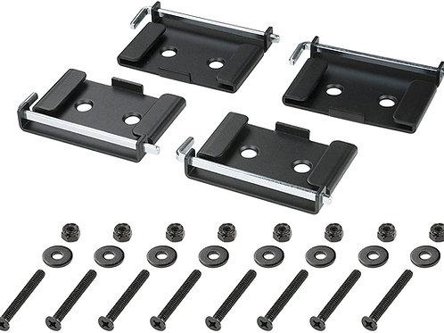Quick-Release Caster Plates - 4pk
