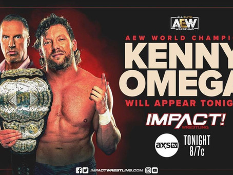 Kenny Omega makes an Impact!