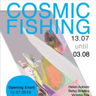 Cosmic Fishing - Kosar Contemporary