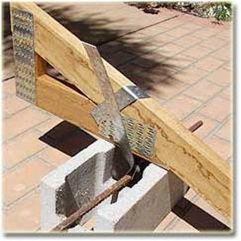 Wilko Strap (Roof Truss Strap) Fitting