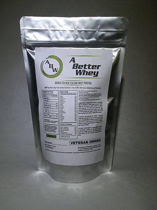 Whey Protein, 15 servings Vanilla Bean