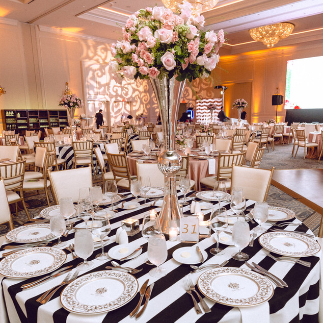 Black Awning Stripe Linens