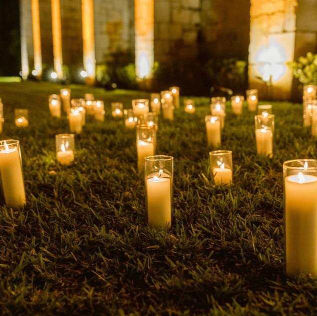 Candle Entrance Wedding