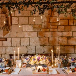 Wedding Candle Table