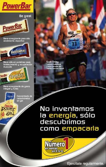 Power Bar Poster / Nestle