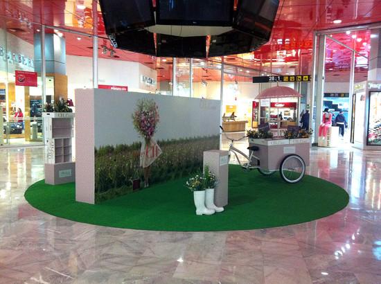 Carolina Herrera Stand Mexico Airport