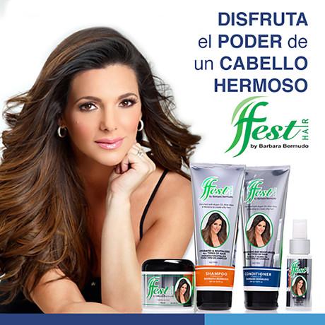 Fest Hair Instagram Ad