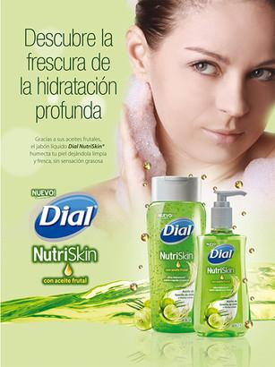 Dial NutriSkin Ad Magazine / Henkel