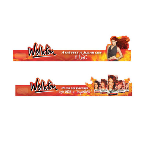 Wellaton Fuego Shelf Talkers
