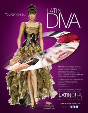 Latin Diva Poster
