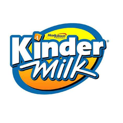 Kinder Milk Logo / Mead Jhonson
