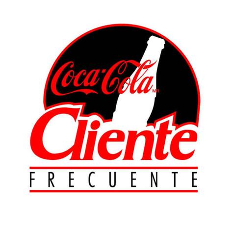 Cliente Frecuente Logo / Coca Cola