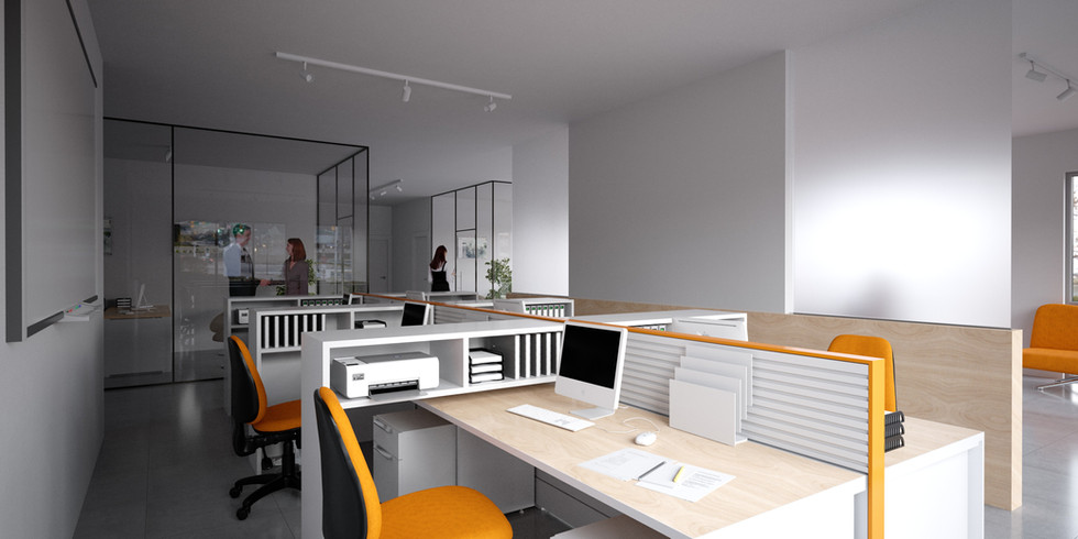 Render Executive office