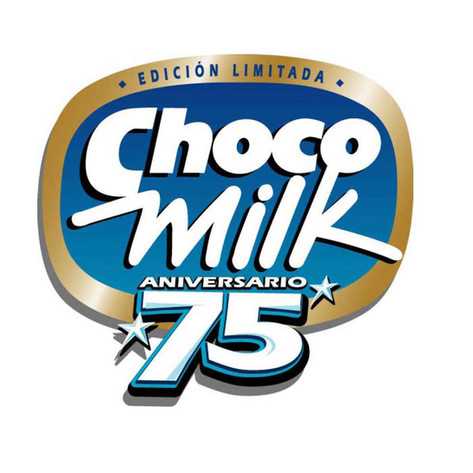 Choco Milk 75 Aniversario Logo / Mead Johnson
