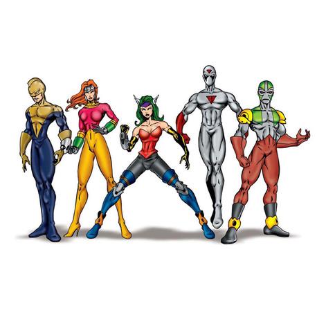 Power Punch Super Heroes / Pepsi