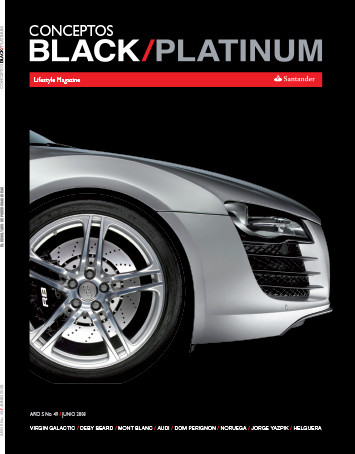 Santander Black Platinum Magazine