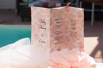 Inspiration Baby Shower - Douceur en Rose
