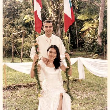 Le menu d'un Mariage franco-péruvien