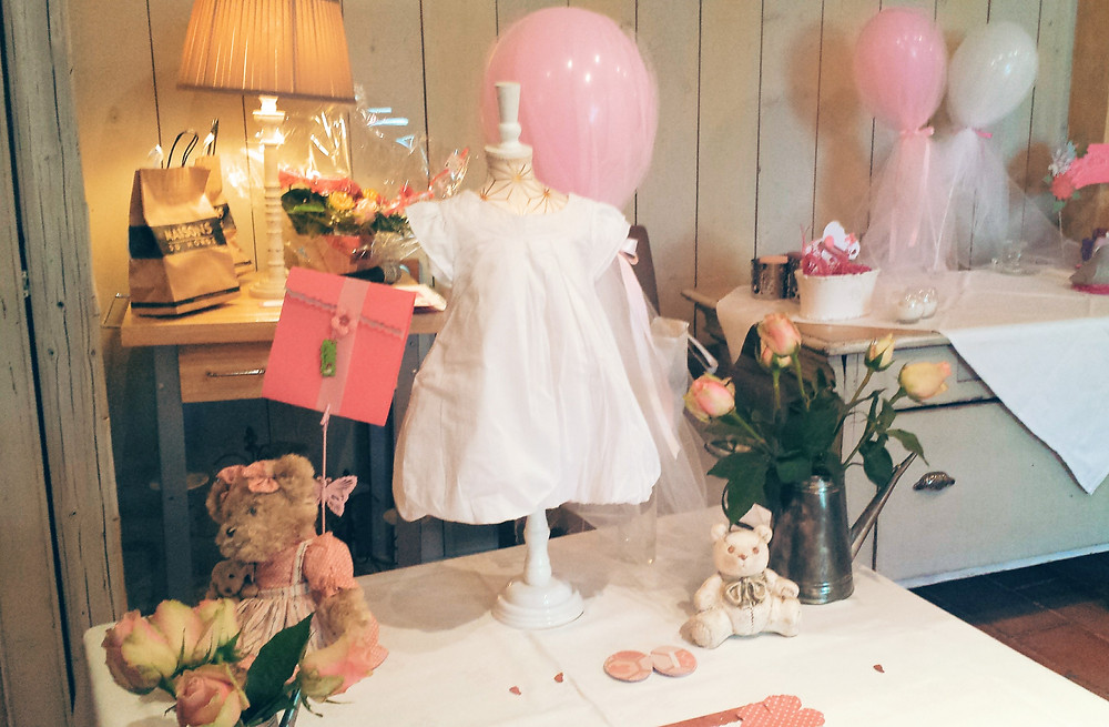 Table d'accueil | Baby Shower | Style Champetre