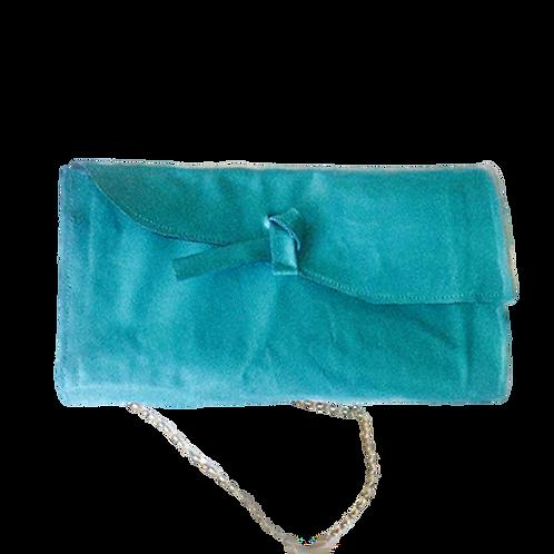 Blue Oversize Clutch