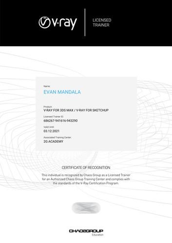 Licensed Trainer Evan Mandala