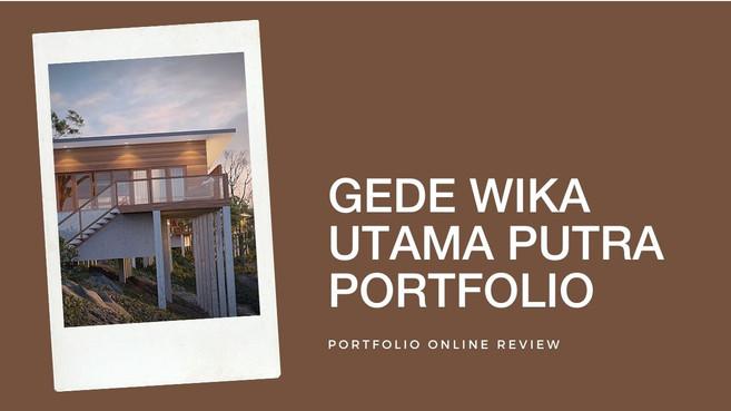 Wika Utama Putra's Portfolio Review