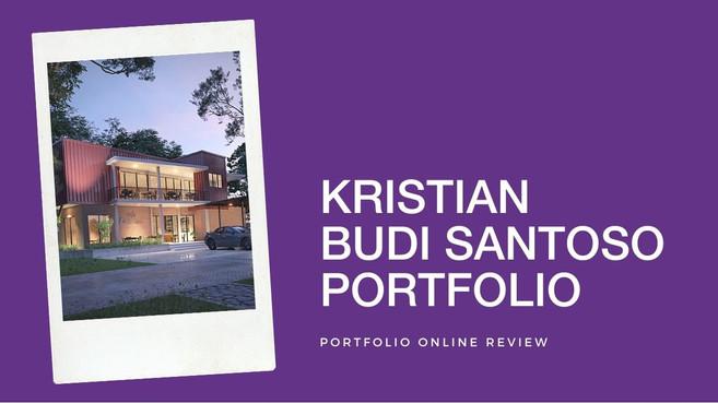 Kristian Budi's Portfolio