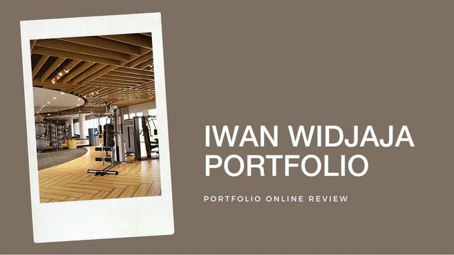 Iwan Widjaja's Portfolio Review