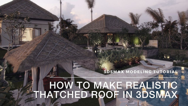 How To Make Thatched Roof